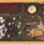 Tata, Papa, Hommage - Existenz und Tod. Objekt, 20,5 x 8 x 21 cm, 2014